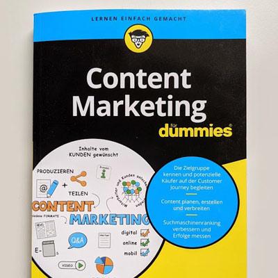 Autorin Buch Content Marketing für Dummies